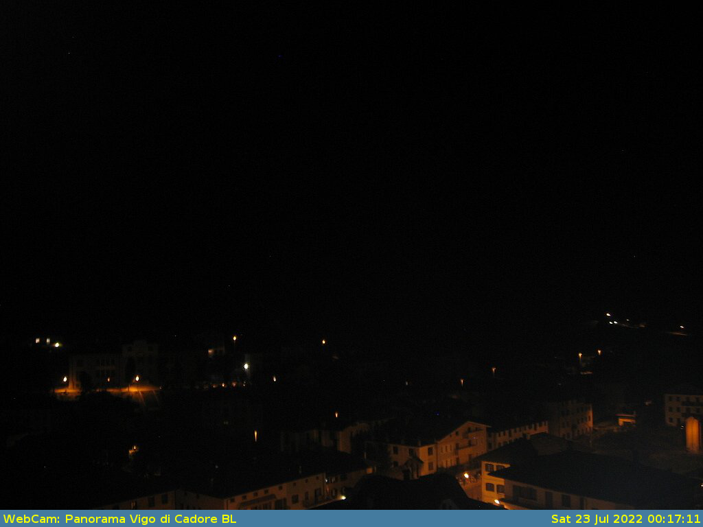 Webcam Vista del M. Tudaio e parte di Vigo di Cadore